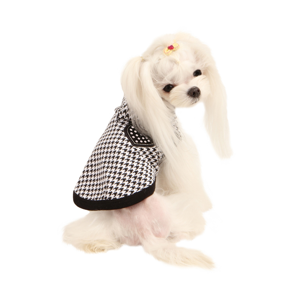 Neogen Dog Hoodie by Puppia - Black