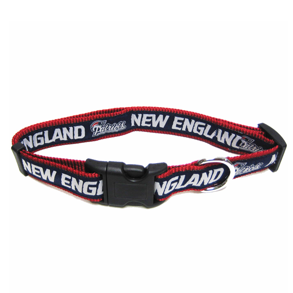 New England Patriots Dog Collar And Leash