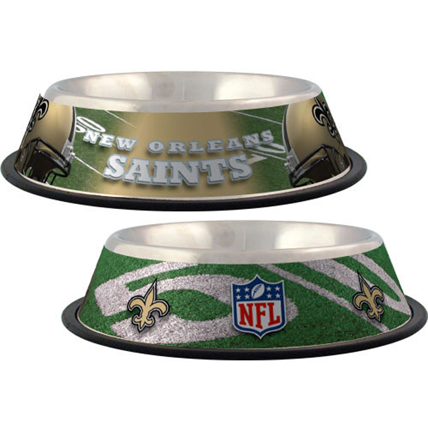 New Orleans Saints Dog Bowl