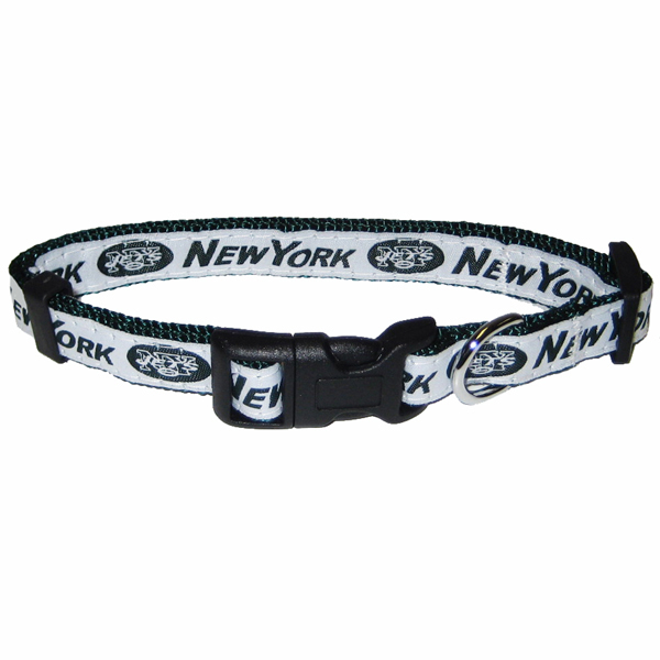 New York Jets Officially Licensed Dog Collar