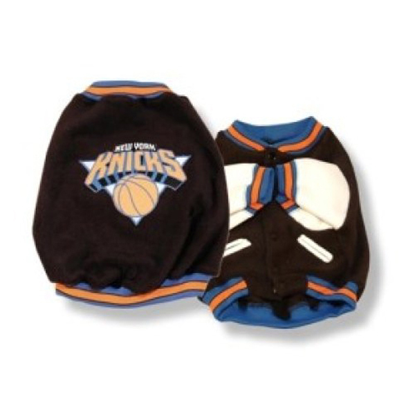 New York Knicks Fleece Dog Jacket