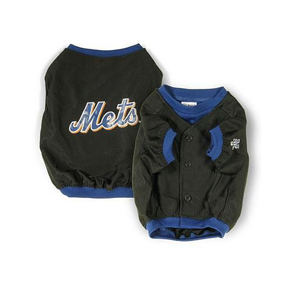 New York Mets Deluxe Black Dog Jersey