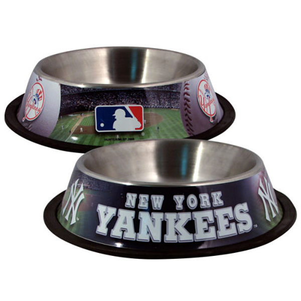 New York Yankees Dog Bowl