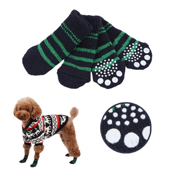 Nitty-Gritty Dog Socks by Puppia - Navy