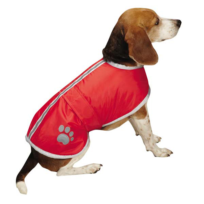 Nor'Easter Dog Jacket - Tomato Red