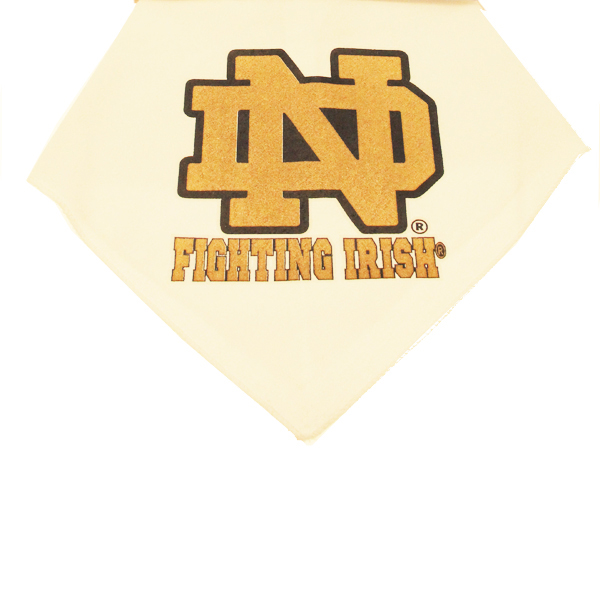 Notre Dame Dog Bandana - Fighting Irish