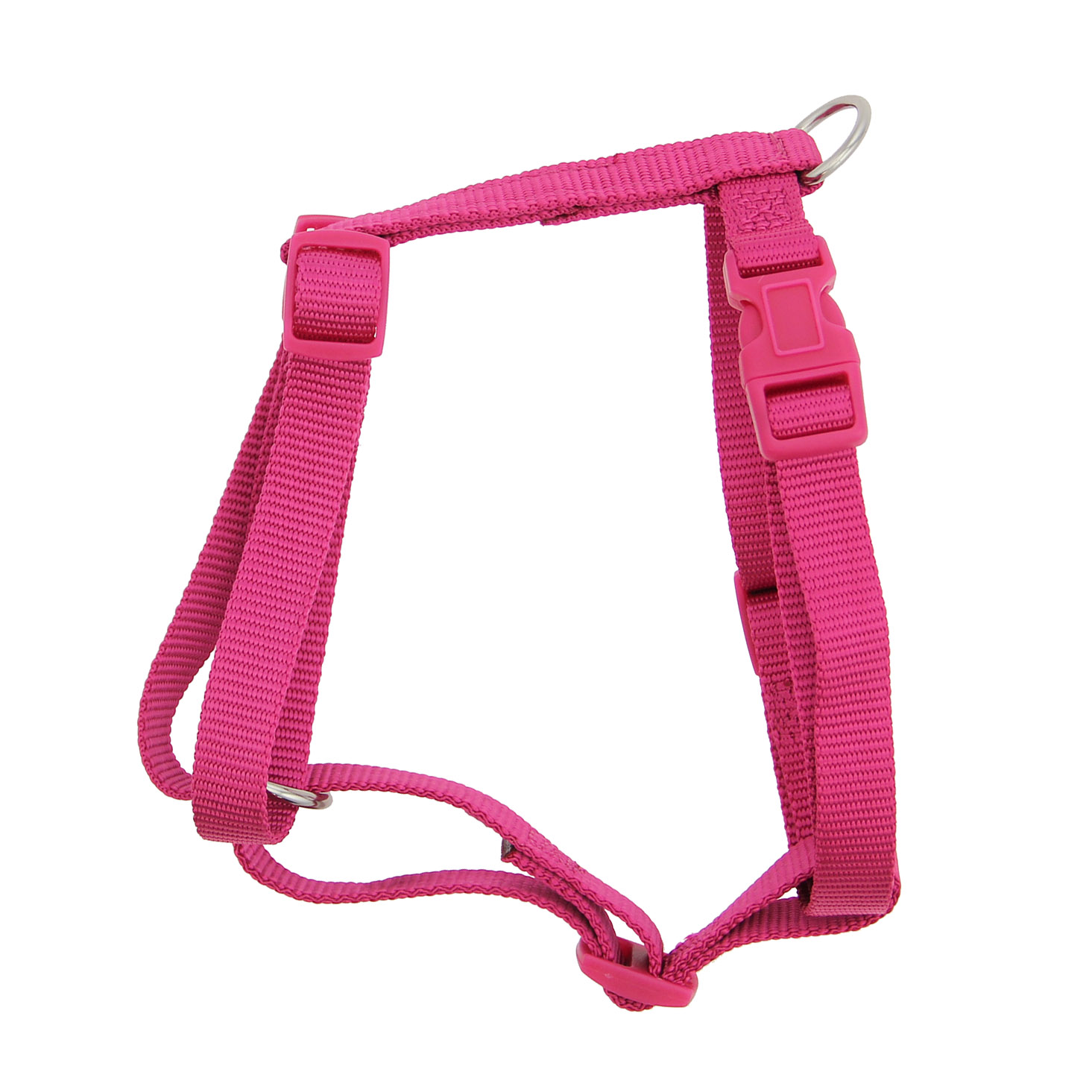 Nylon Harness by Zack & Zoey - Raspberry Sorbet