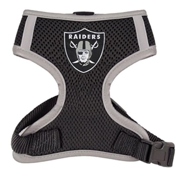 Oakland Raiders Dog Harness