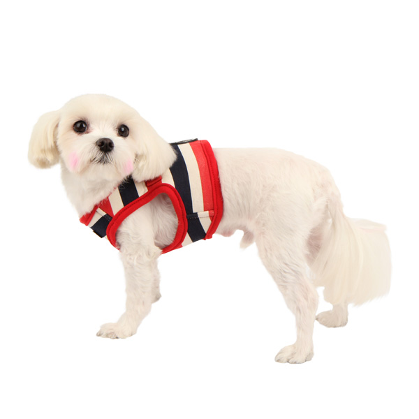 Ocean Mist Dog Harness Vest by Puppia - Red