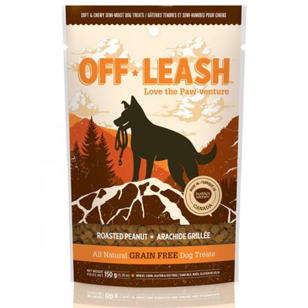 Off-Leash Dog Treats - Roasted Peanut
