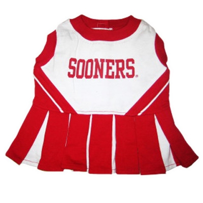 Oklahoma Sooners Cheerleader Dog Dress