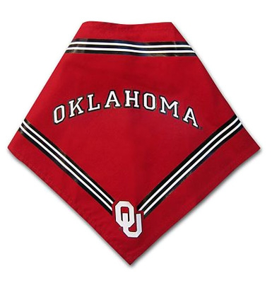 Oklahoma Sooners Dog Bandana - Red
