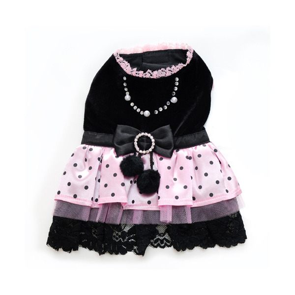 Olivia Polka Dot Party Dog Dress