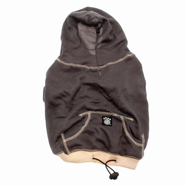 On-the-Go Heathered Dog Hoodie - Charcoal Heather