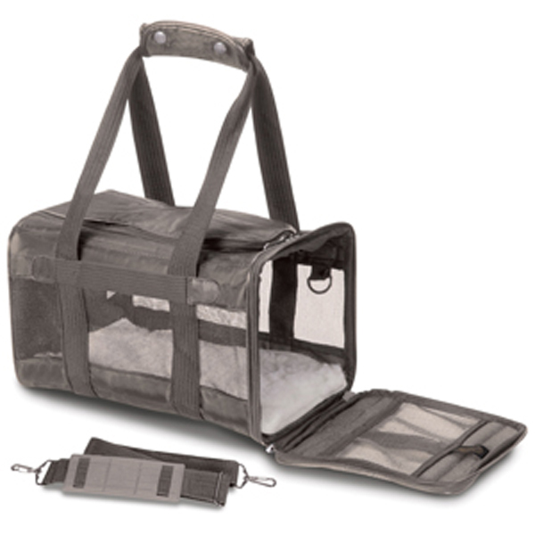 Original Deluxe Sherpa Dog Carrier - Gray