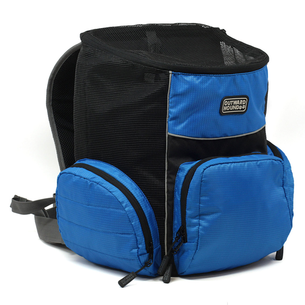 Outward Hound Backpack Pet Carrier - Blue