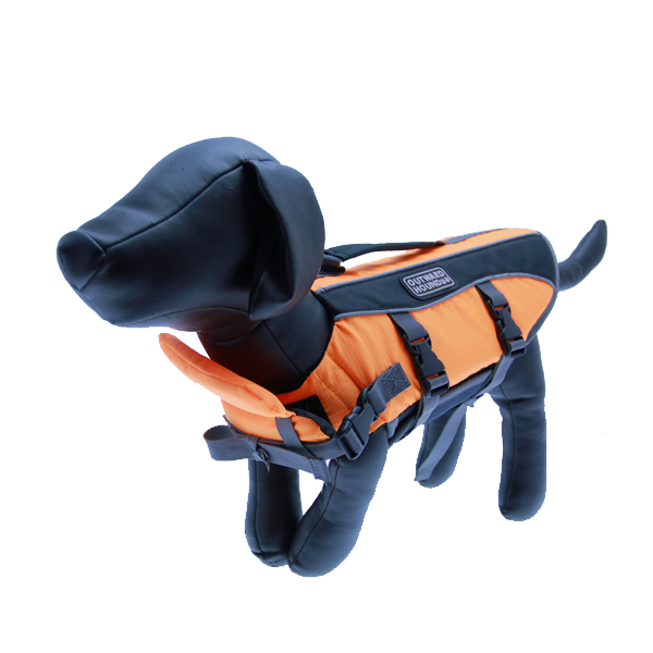 Outward Hound Dog Life Jacket - Orange
