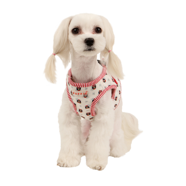 Owlet Dog Harness by Puppia - Ivory