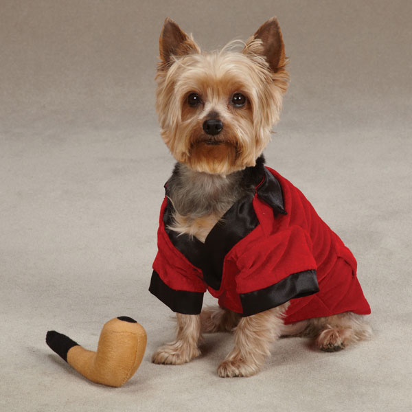 Party Hounds Smoking Jacket Dog Halloween Costume