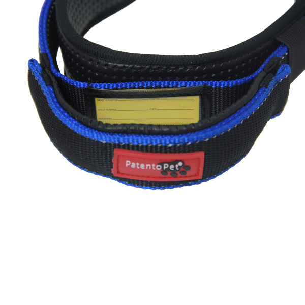 Patento Pet Premium Nylon Dog Collar - Black