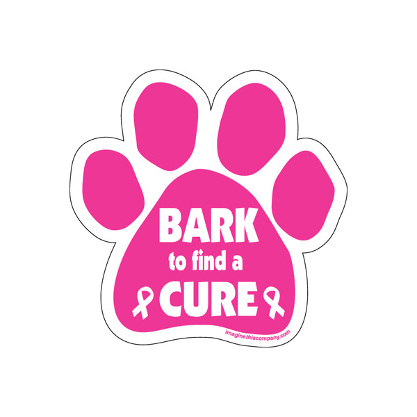 Paw Magnet - Bark to Find a Cure