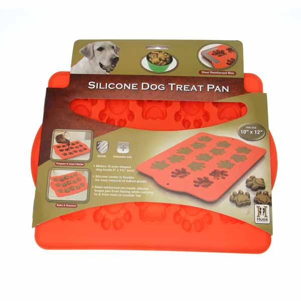 Paw Shaped Silicone Dog Treat Pan