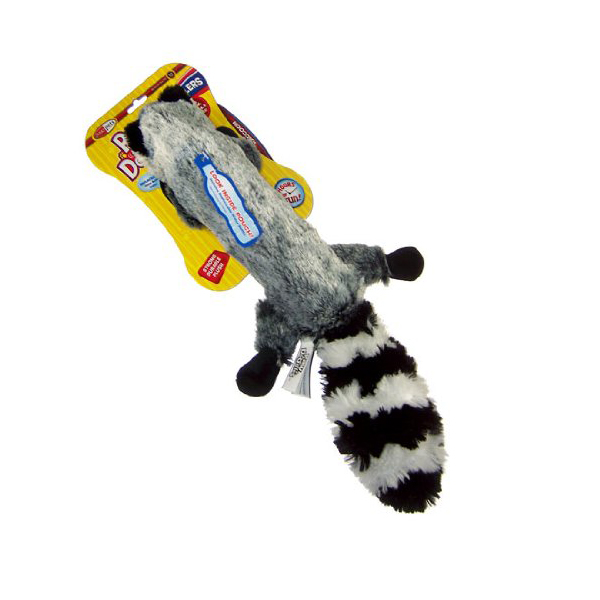 Pawdoodles Krinklers Dog Toy - Raccoon