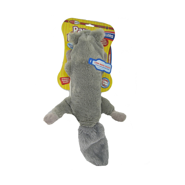 Pawdoodles Krinklers Dog Toy - Squirrel