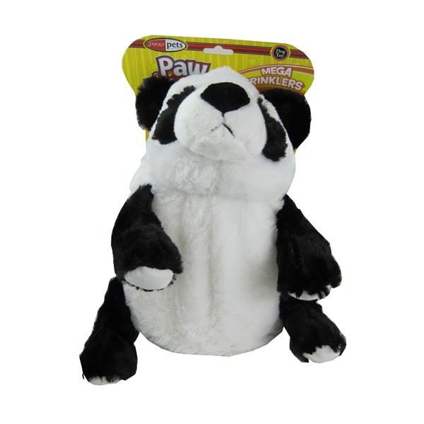 Pawdoodles Mega Krinklers Dog Toy - Panda