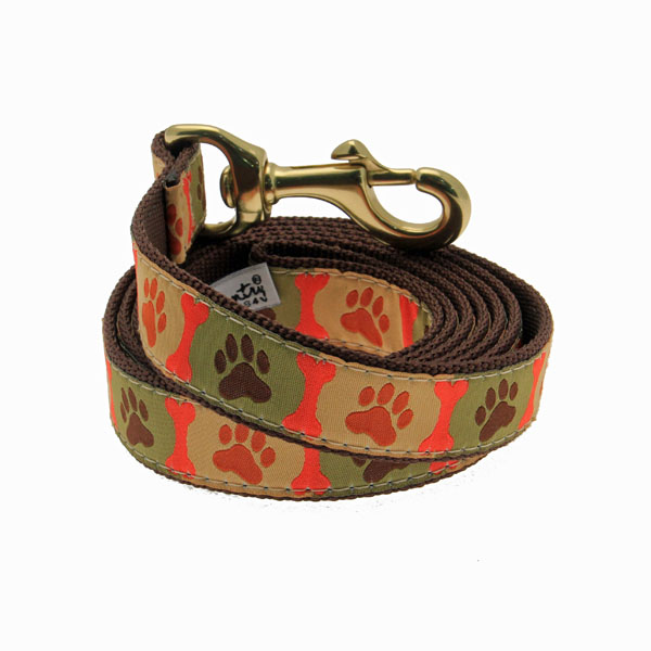 Pawprint Dog Leash by Up Country