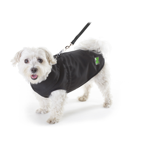 PawZ 1Z Waterproof & Windproof Dog Coat - Black
