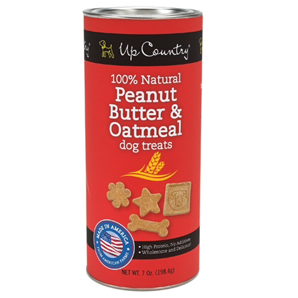 Peanut Butter and Oatmeal Dog Treat by Up Country