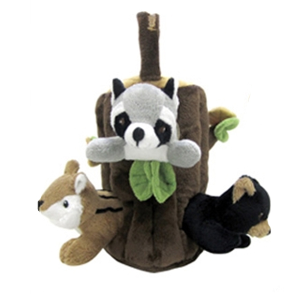 Peek-A-Boo Forest Friends - 4 Pieces