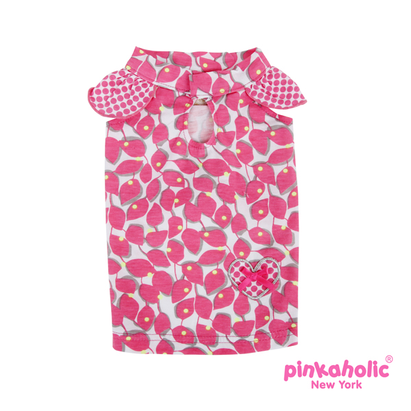 Peeps Dog Dress by Pinkaholic - Dark Pink