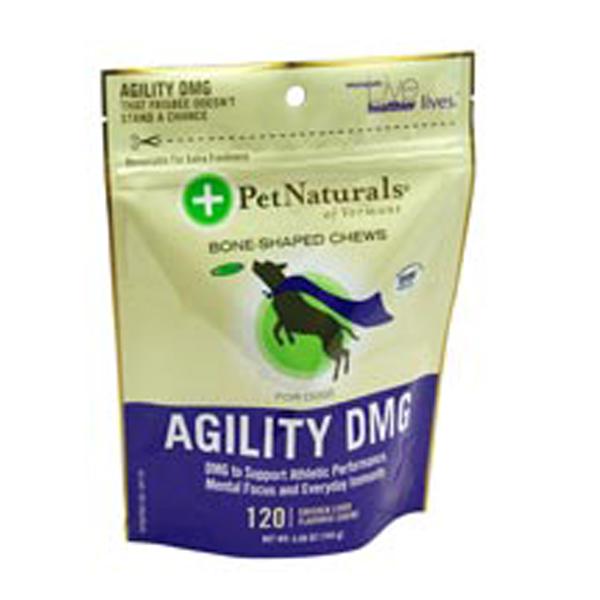 Pet Naturals Agility DMG Bone Shaped Chew