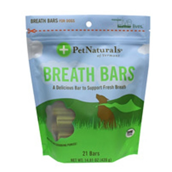 Pet Naturals Breath Bars Dog Chews
