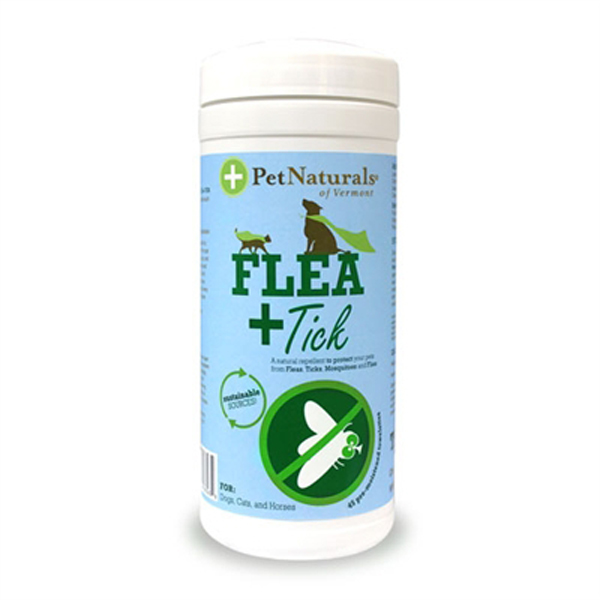Pet Naturals Flea and Tick Repellent Pre-Moistened Wipes