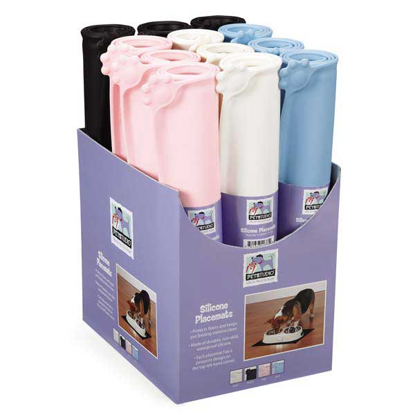 Dog Training Placemat: Pet Studio Silicone Pet Placemat
