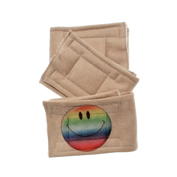 Peter Pads Dog Belly Band 3pk - Happy Face