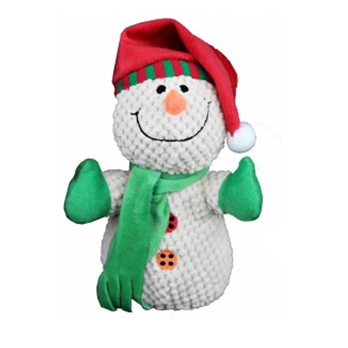 Christmas Toys Product : Petlou christmas snowman dog toy baxterboo