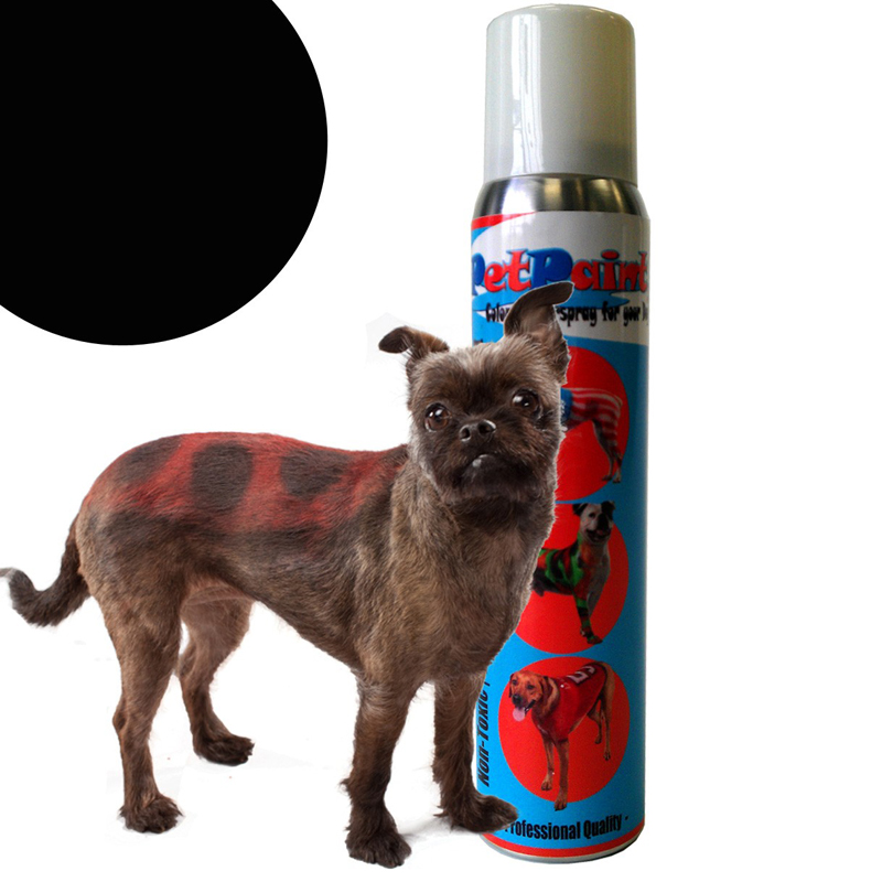 PetPaint Color Dog Hair Spray - Basset Black