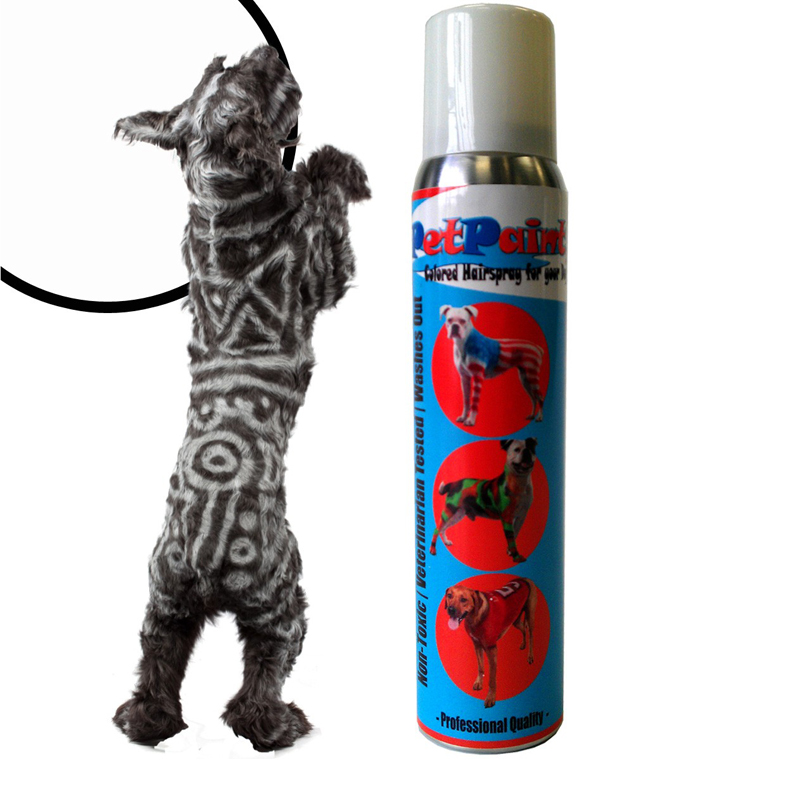 PetPaint Color Dog Hair Spray - Whippet White