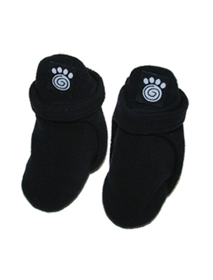 Petrageous Fleece Dog Booties - Black