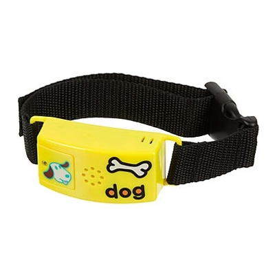 Pettags No-Bark Collar - Yellow