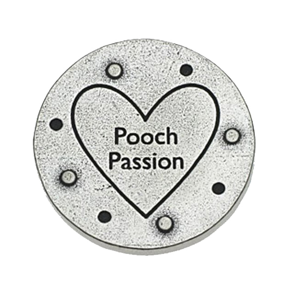 Pewter Pet Magnet: Pooch Passion