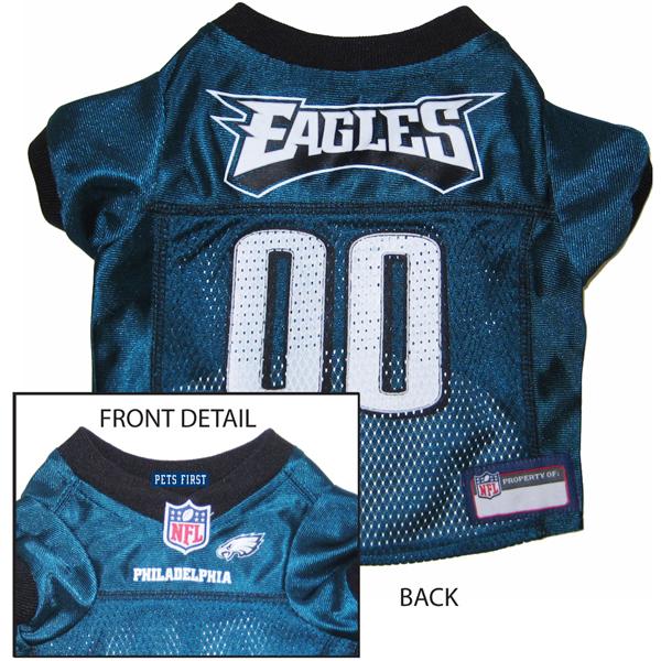 Philadelphia Eagles Officially Licensed Dog Jersey - Midnight Green