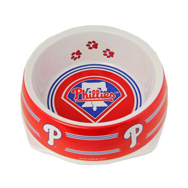 Philadelphia Phillies Plastic Dog Bowl