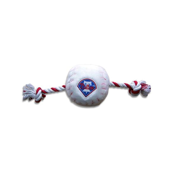 Philadelphia Phillies Plush Baseball Rope Toy