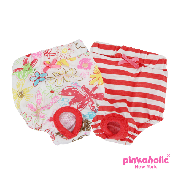Picnic Dog Sanitary Panty by Pinkaholic - Red