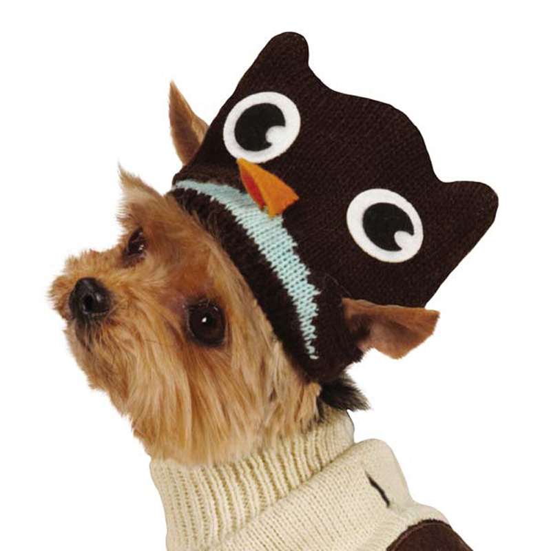 Piggyback Pals Dog Sweater Set - Owl